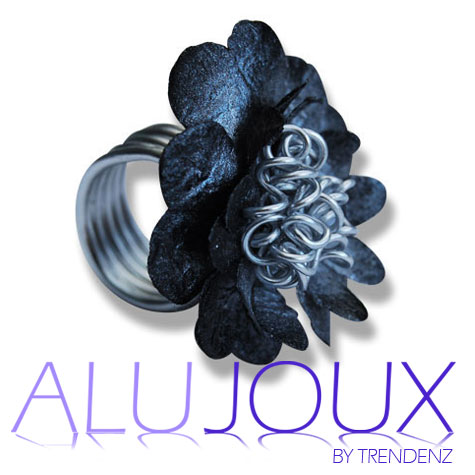 Petaloo ring Alujoux